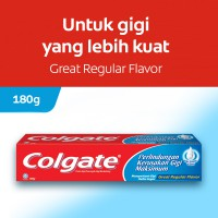 Colgate Maximum Cavity Protection Great Regular Flavor Toothpaste/Pasta Gigi 180g