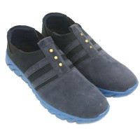 Dr. Kevin Man Slip On Shoes 13346- 2 Colors [ Blue/Navy,Black Grey ]