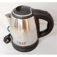 SAP Kettle Listrik Stainless Low Watt 1 Ltr SAP-899 - Silver