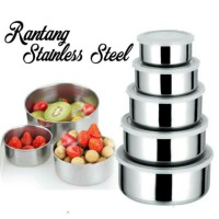 Rantang stainless set 5 in 1