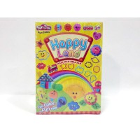 FUN DOH Happy Land / FUNDOH Mainan Lilin cetakan bentuk Happy Land/fundoh murah/playdoh murah