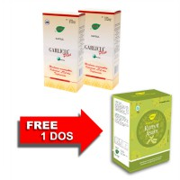 Jamu IBOE Garlicia Plus Strip Herbal Supplement 2 @5 strip