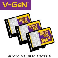 V-GEN MICRO SD/ TRANSFLASH 8GB NA