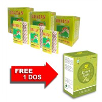 Jamu IBOE Uratan Strip Herbal Supplement 3 dos @10 strip