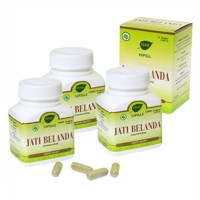Jamu IBOE Jati Belanda Herbal Supplement 3 botol @30 kapsul