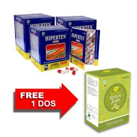 Jamu IBOE Hiperten Herbal Supplement 3 dos @10 strip