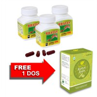 Jamu IBOE Uratan Kapsul Botol Herbal Supplement 3 botol @30 kapsul