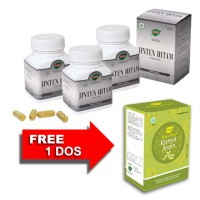 Jamu IBOE Jinten Hitam Herbal Supplement 3 botol @30 kapsul