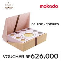 MAQUI'S Imlek Deluxe-Cookies : 16 Assorted Cylinder Pack