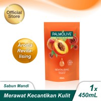 Palmolive Aromatheraphy Revitalising Shower Gel/Sabun Mandi Gel 450ml