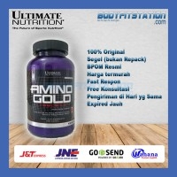 Ultimate Amino Gold 250 Tablets / 250tabs Nutrition protein suplemen supplement tab tabs tablet un