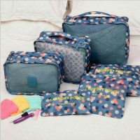 Set Traveling Bag in Bag 6 in 1 (Traveling Organizer)