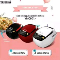 Yong Ma Digital Rice Cooker Magic Com 2L YMC 801