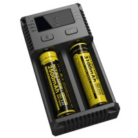 [esiafone new i2] NITECORE Intellicharger Battery/Baterai Charger 2 Slot for Li-ion and NiMH