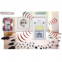 Riddex Plus Pengusir Nyamuk Kecoak Tikus Ultrasonic Repellent AS SEEN