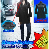 Dress Kaos Kerah  Casual  LP 008 HO