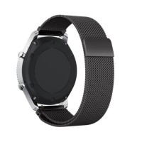 Wakaka Milanese Loop Magnetic Stainless Steel Band Samsung Gear S3 - Hitam