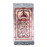 Sajadah Anak Motif Masjid Berwarna Silver - Prayer Rugs For Kids