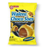 Nissin Wallens Soes Choco 100gr ( Pillow Bag )