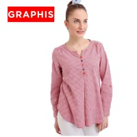 GRAPHIS Long Sleeve Blouse