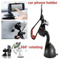 Lazypod mobil meja / Car Suction Mount Holder Universal Smartphone clip