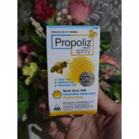 Propoliz Mouth Spray 15 ml Obat Mulut Radang Tenggorokan Natural BPOM