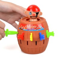 Running man Pirate Bucket for Kids and adults Toys