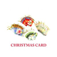 HO5096 - Christmas Decoration Card (10 Pcs)
