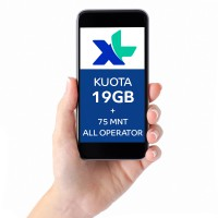 Paket COMBO XTRA 19GB, 30hr, Rp89rb