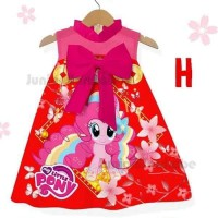 Dress Imlek Cheongsam CNY My Little Pony