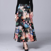 (#950)Florist Skirt/Rok pesta/Rok kerja/Party Skirt/Rok Panjang