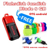 Flashdisk Sandisk cruzer Switch 8GB (free USB OTG Android)