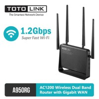 ( PICK UP AIA  Central) Wireless Dual Band Router with Gigabit WAN AC1200 - TOTOLINK A950RG