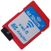 [TERMURAH] Mediatech ez-share WiFi Adapter - Micro SD to SD Card - Merah