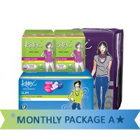 [Total 46pcs]Kotex Monthly Package A(OVN Slim Liner LW)