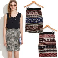 [BATIK SHORT SKIRT] ROK PENDEK MOTIF BATIK KANTORAN - ALL SIZE - HIGH QUALITY - BRAND NEW