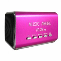 Mediatech Speaker Portable MP3 - YCL-22 - Pink