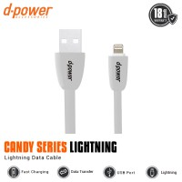 Dpower Candy Series Lightning Data Cable 3ft/0.9m