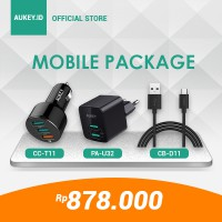 Aukey Mobile Package Special Bundle Limited Edition Rp. 878.000