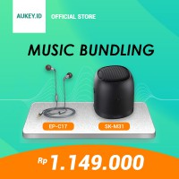 HEMAT IDR 500.000 - Aukey Music Package Special Bundle Limited Edition Rp. 1.149.000