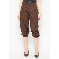 Mobile Power Ladies Short Pants - Brown AG30043