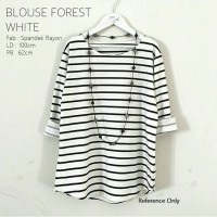 Blouse Forest White