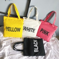 Tas Shopper Totebag Color Texted