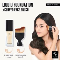 Eity Eight Liquid Foundation ver88 + Curved Face Brush Ver88