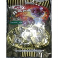 Apolo ROKA Wafer Ball Covered with Nutty Chocolate (Berat Isi Tanpa Bungkus: 300 Gr / 50 pcs @ 6 Gr)