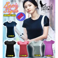 KAOS POLOS GOOD QUALITY COTTON LT 016