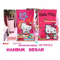 HANDUK MANDI HELLO KITTY JUMBO