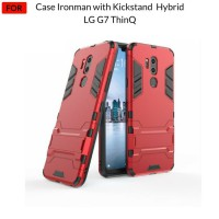 Case LG G7 ThinQ Case Ironman with Kickstand