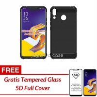 Asus Zenfone 5 / 5Z Case Carbon FREE TEMPERED GLASS 5D - FREE TG