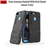 Case Honor 9 Lite Ironman Hybrid with Kickstand